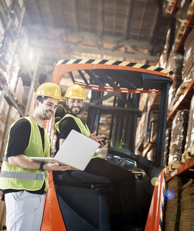 Logistik Arbeiter